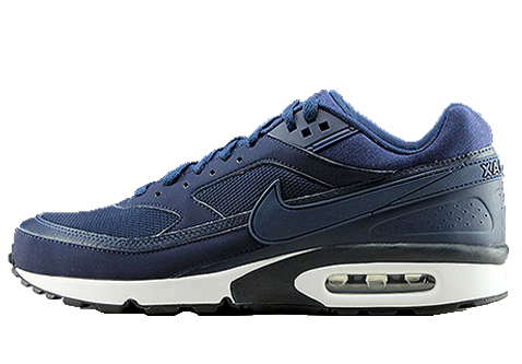 new style 7cddd d3705 Home   Heren   Nike Air Max BW Navy